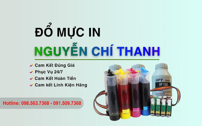 Đổ mực Nguyễn Chí Thanh